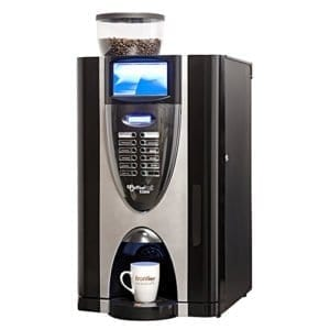 Bean coffee vending machines offer real bean flavour at the push of a button. This is the king of coffee machines
