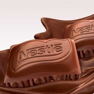 Nestle hot chocolate powder