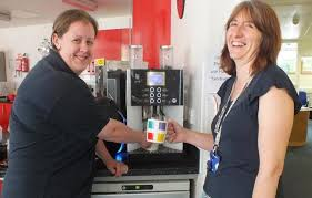 Improve staff motivation in the office with a coffee machine