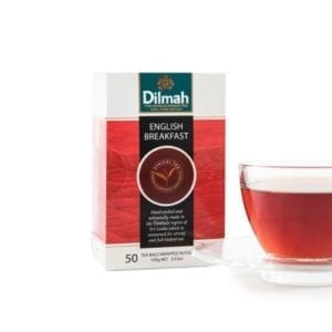 Dilmah English Breakfast tea bags