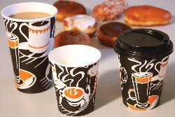 Hot walled coffee cups