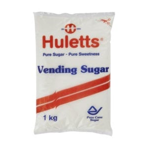 Vending sugar for coffee vending machines